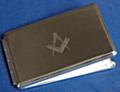 Silver Plated Address book.