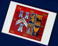 5 Pack Coat of Arms Christmas Card
